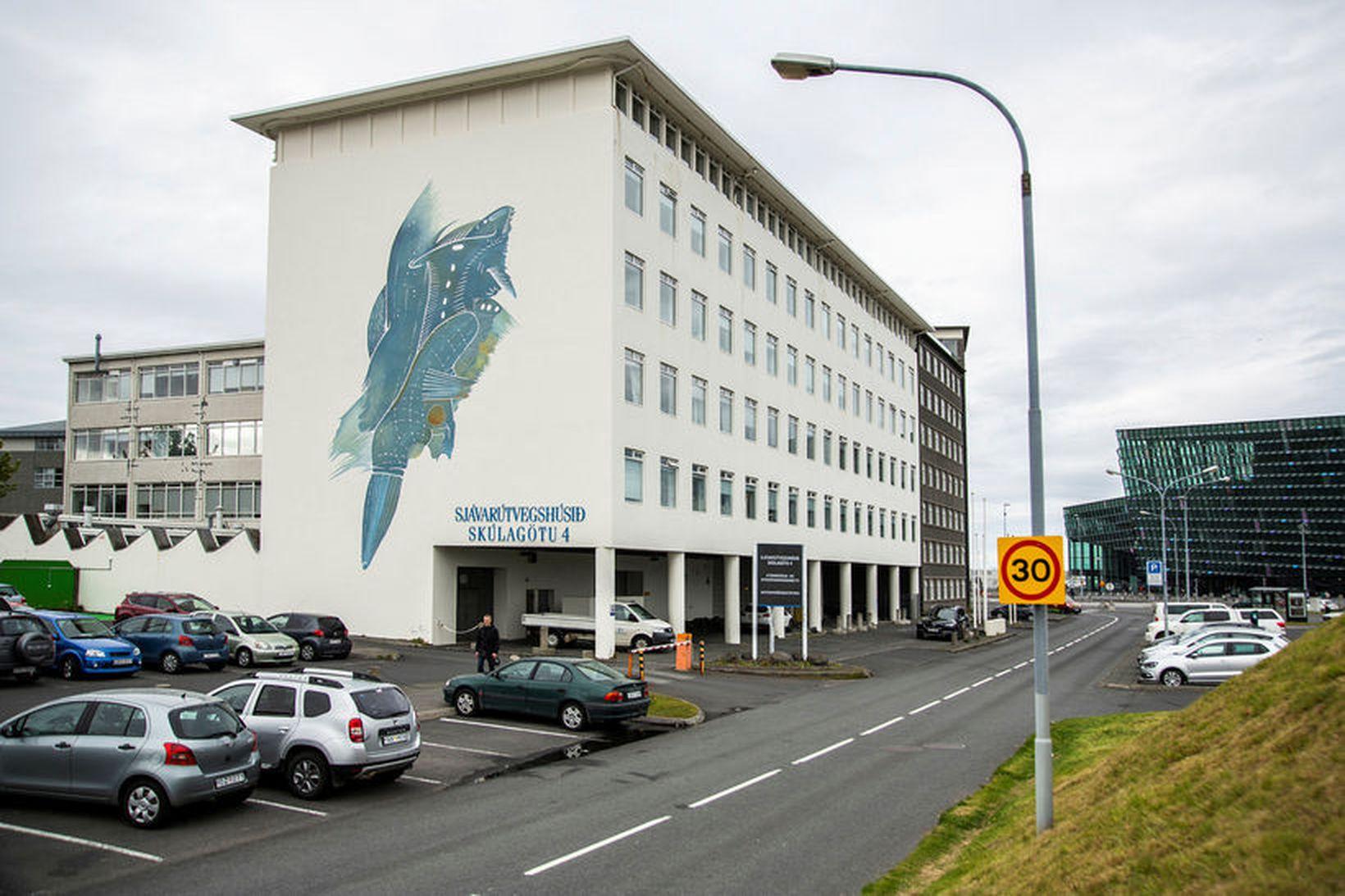 Húsnæði Hafrannsóknastofnunar við Skúlagötu.