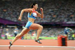 Natalia Antjukh vann til gullverðlauna í 400 metra grindahlaupi í London 2012.