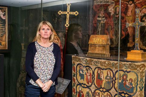 Archaeologist Steinunn Kristjánsdóttir has for years researched the cloisters of medieval times in Iceland.