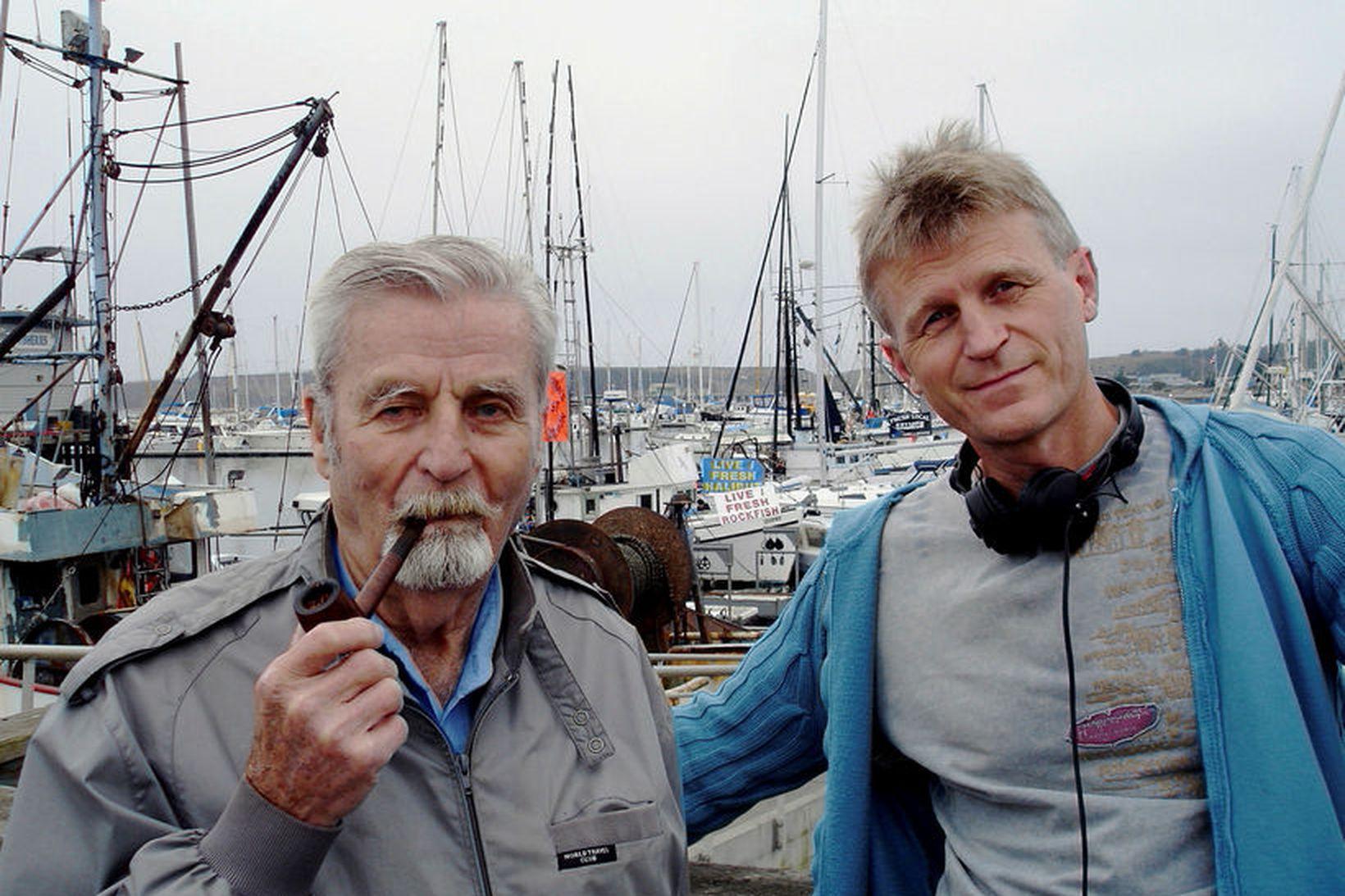 Ib Árnason Riis og Helgi Felixson.