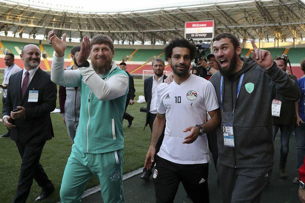 Mo Salah er vinsæll í Rússlandi.