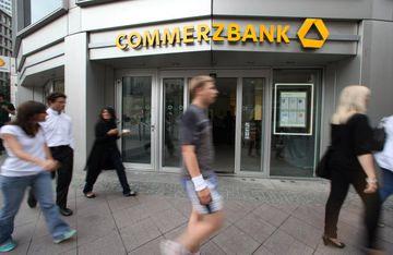 Höfuðstöðvar Commerzbank í Frankfurt.