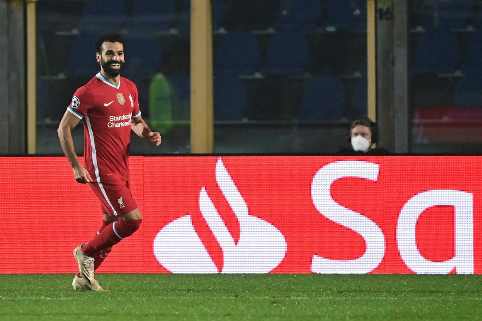 Mohamed Salah er með kórónuveiruna.