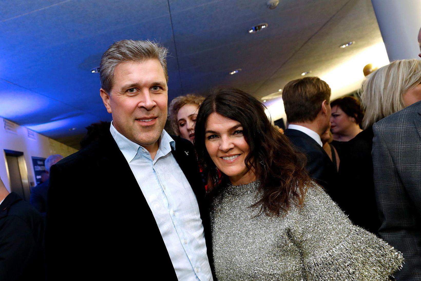 Bjarni Benediktsson og Þóra Margrét Baldvinsdóttir.