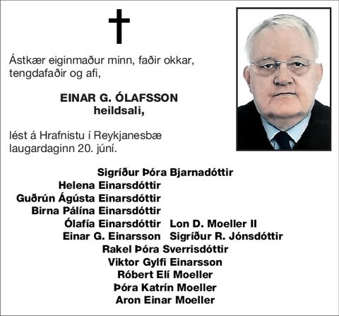 Einar G. Ólafsson
