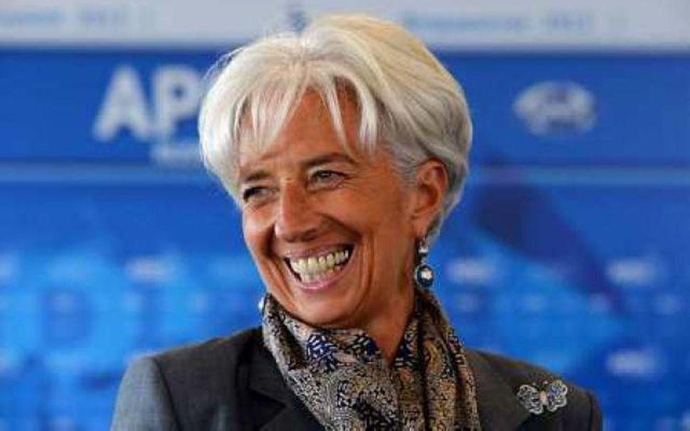 Christine Lagarde, forstjóri IMF.