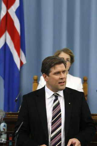 Bjarni Benediktsson.
