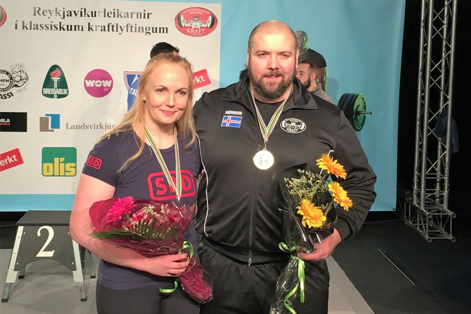 Ellen Ýr Jónsdóttir og Júlían J.K. Jóhannsson eiga von á …