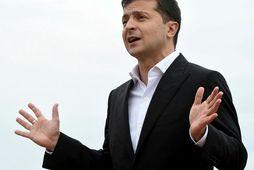 Volodimír Zelenskí, forseti Úkraínu.