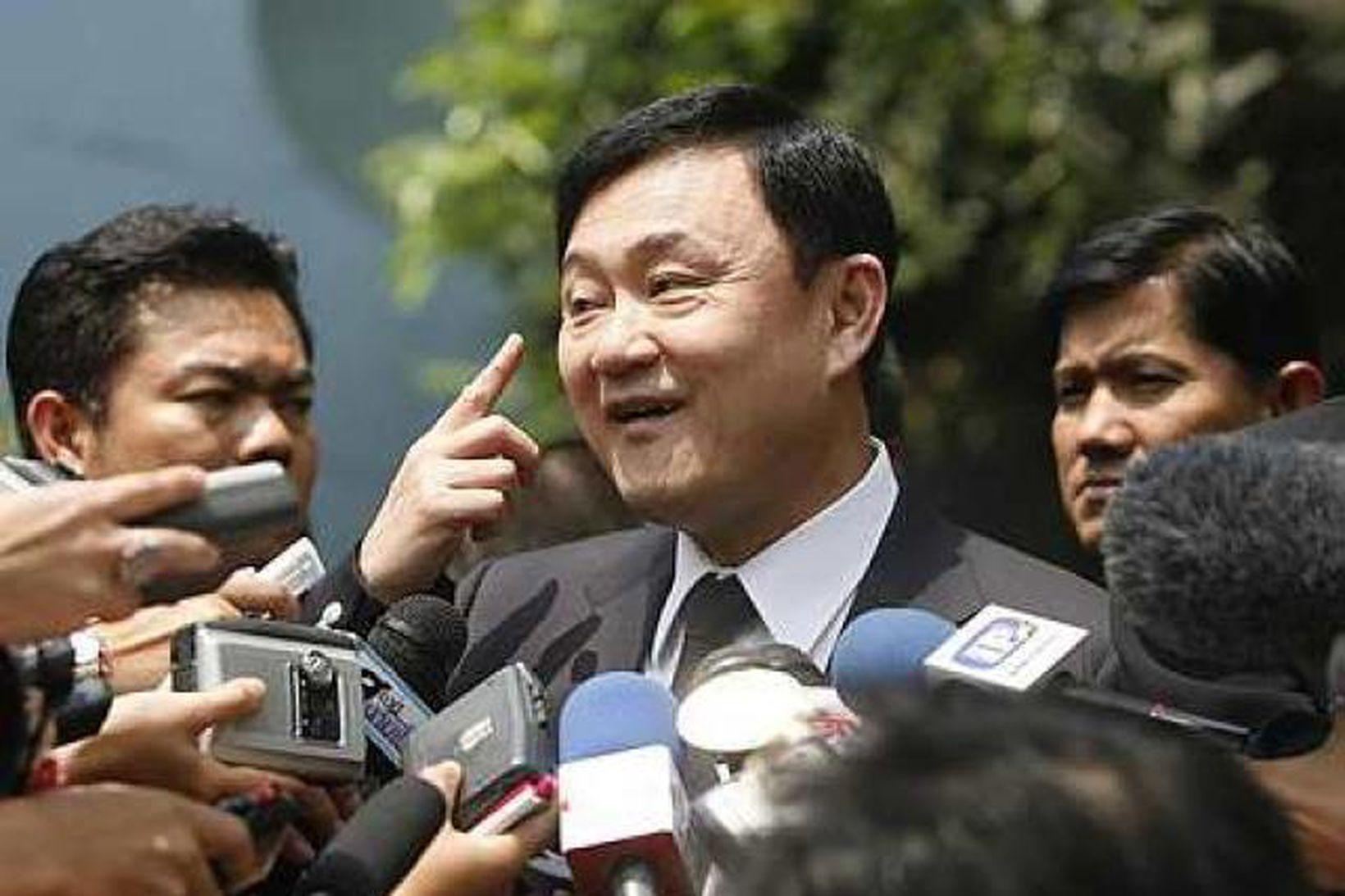 Hinn útlægi Thaksin Shinawatra er nú efnahagslegur ráðgjafi í Kambódíu