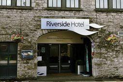 Það var á þessu hóteli, Riverside, sem atvikið átti sér stað.