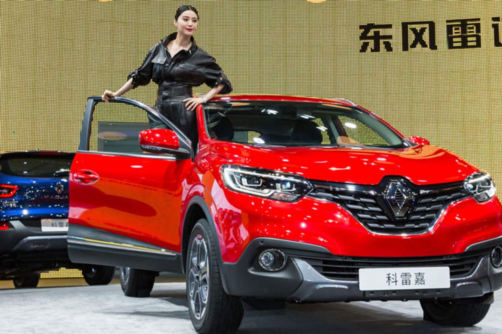Renault fólksbílar eru á útleið frá Kína.