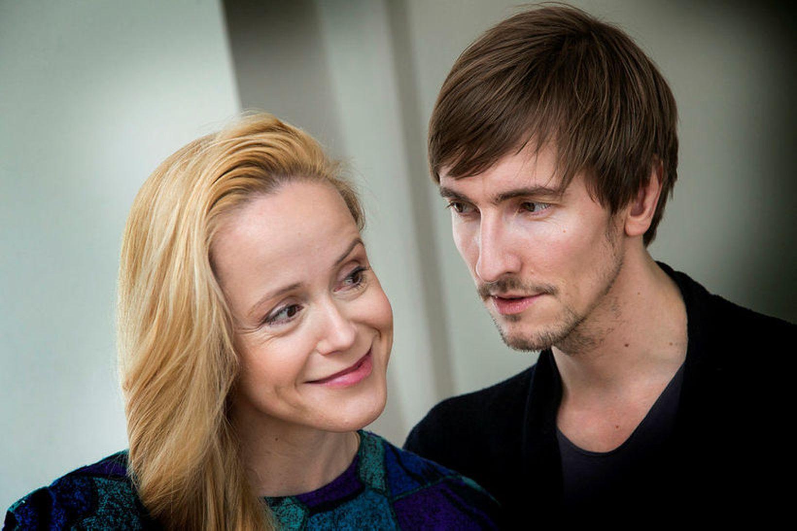 Hjónin Tina Dickow og Helgi Hrafn Jónsson eiga afdrep í …