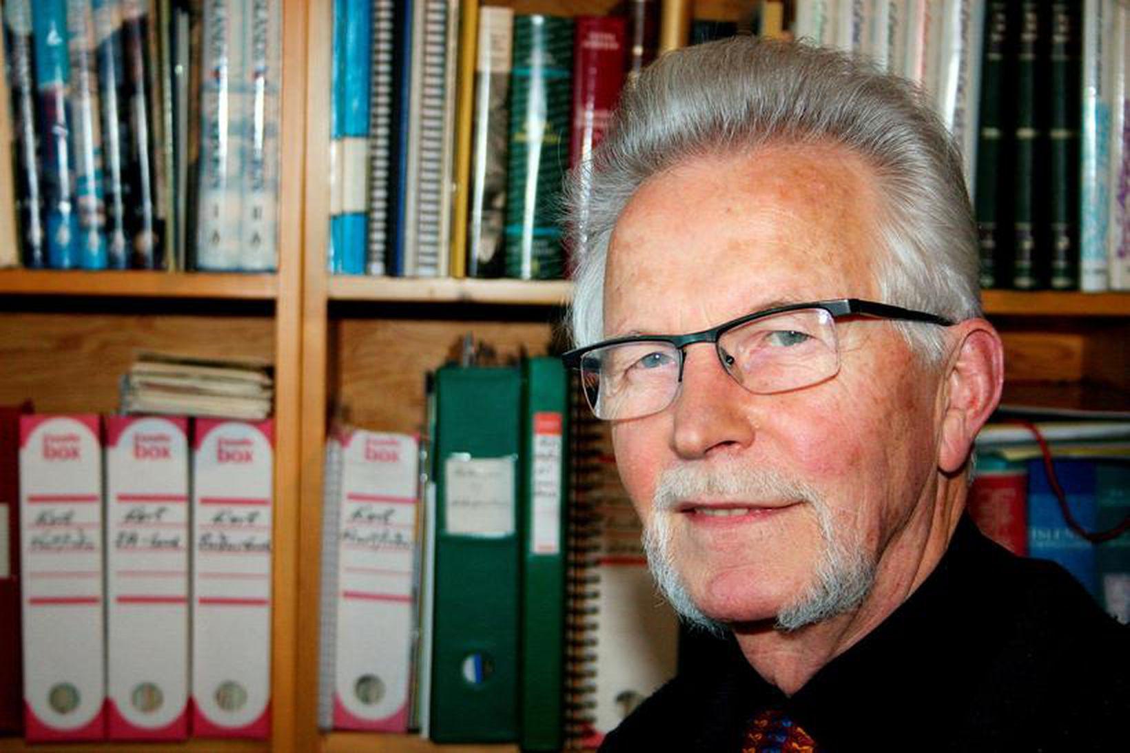 Hjörleifur Guttormsson.