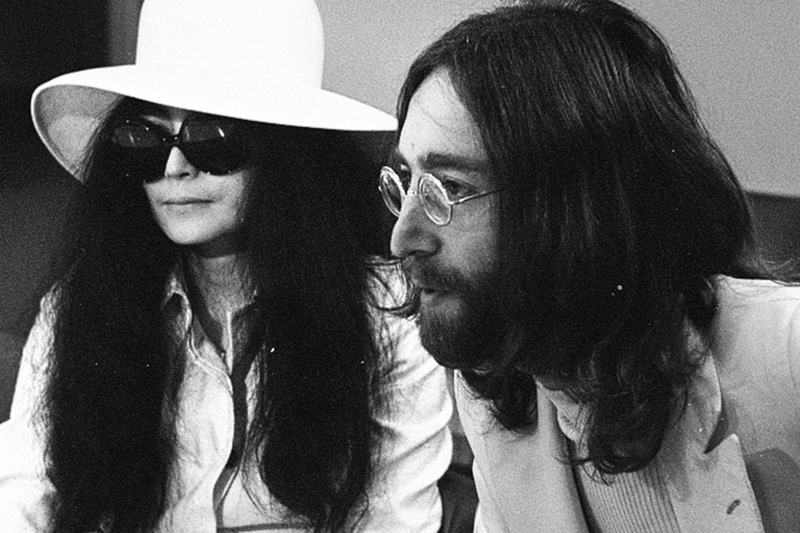 Yoko Ono og John Lennon árið 1969.