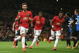 Manchester United er enn í baráttunni í Evrópudeildinni og enska bikarnum.