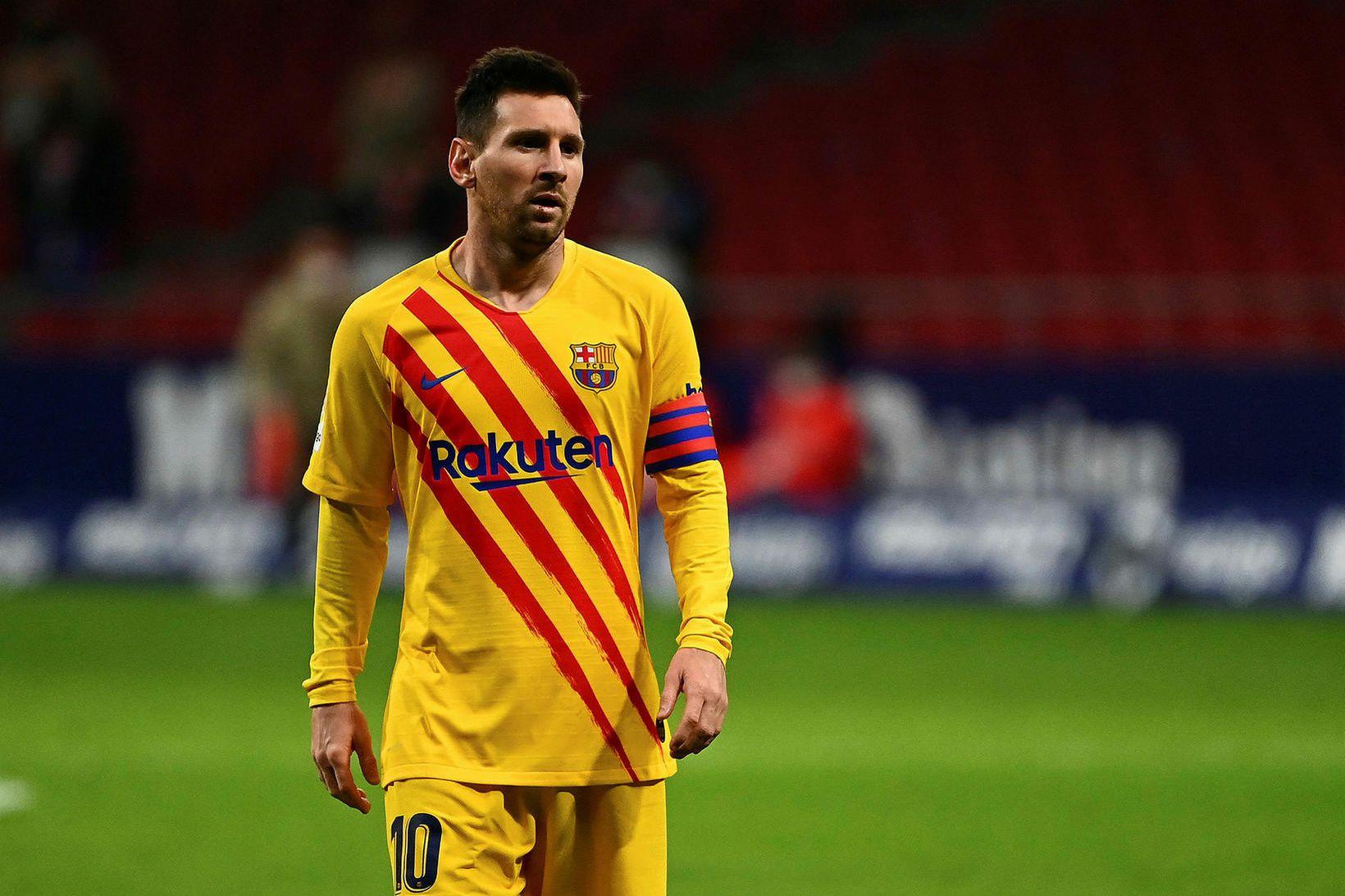 Lionel Messi er samningslaus eftir leiktíðina.