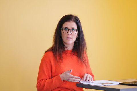 Minister of Justice Þórdís Kolbrún Reykfjörð Gylfadóttir.