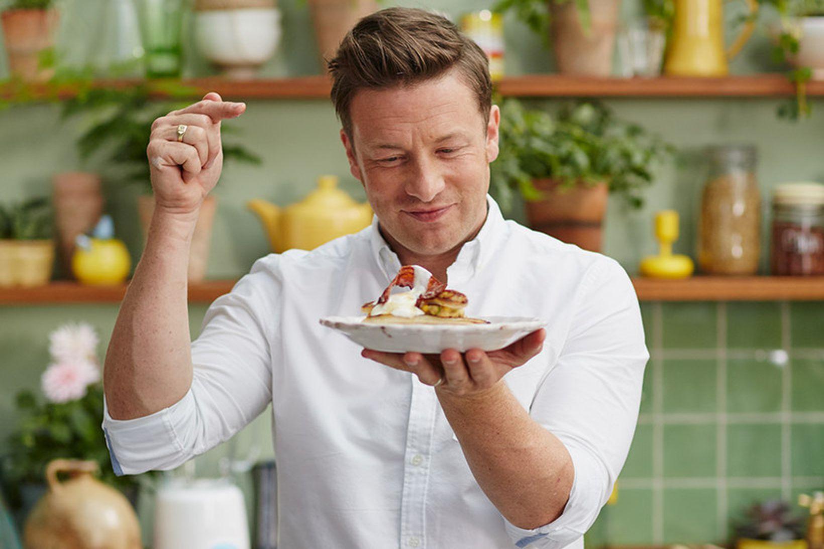 Jamie Oliver átti erfiða viku.