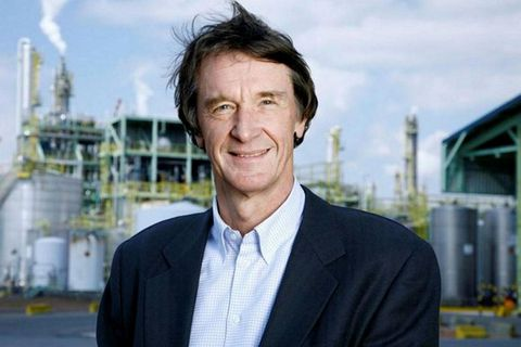 Jim Ratcliffe is Britan's richest man.