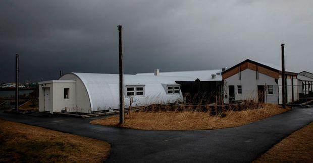 Bragginn við Nauthólsvík.