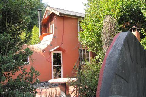 Skórinn í Nýja Sjálandi hefur verið einstaklega vinsæll á Airbnb.