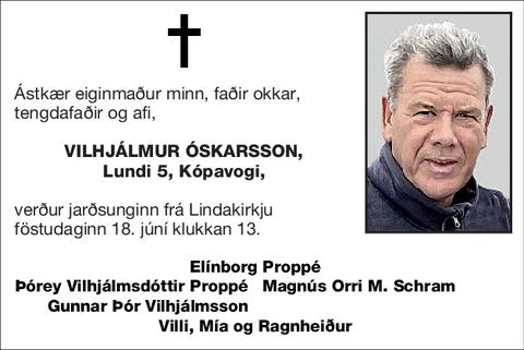 Vilhjálmur Óskarsson,