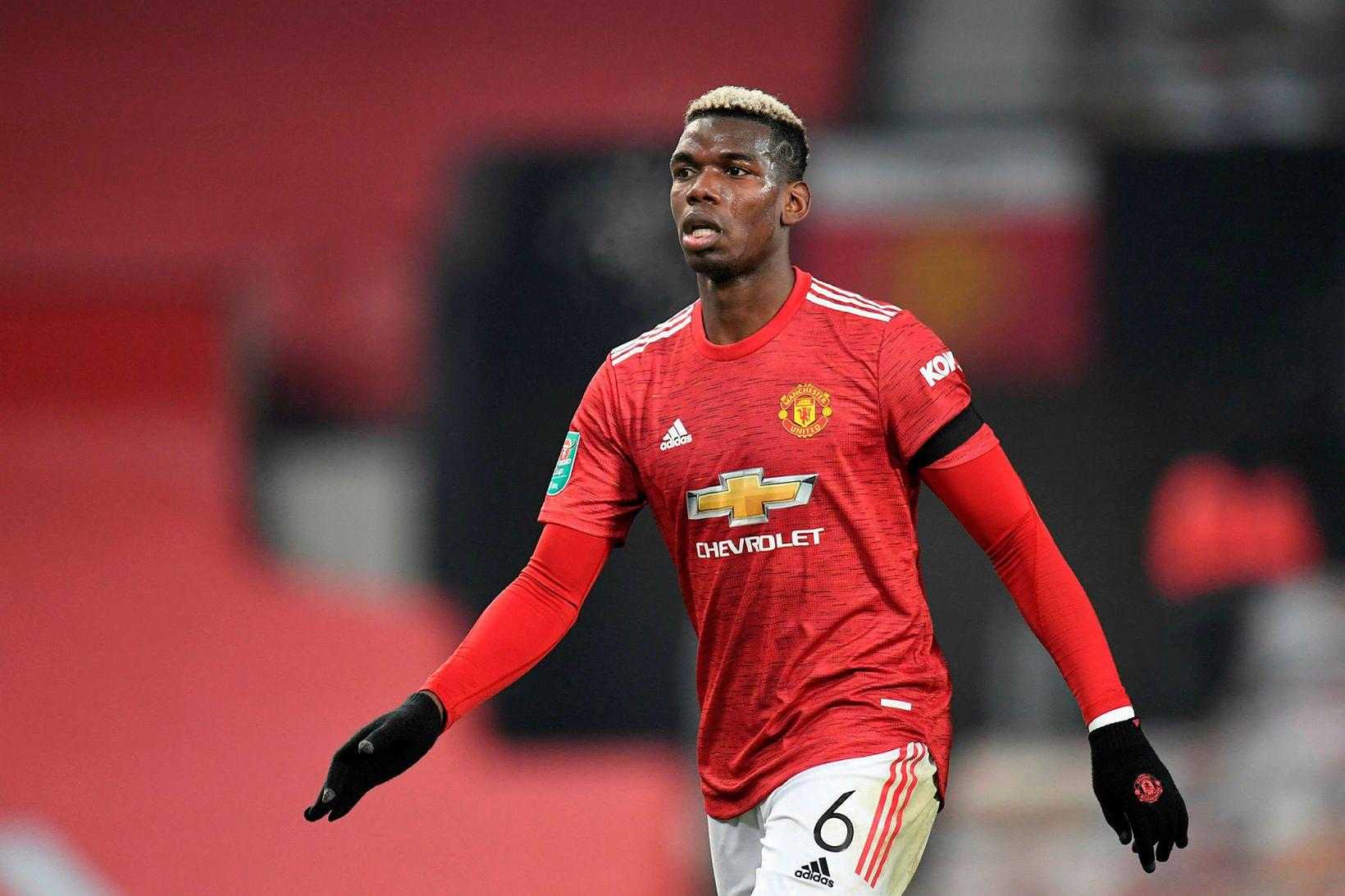Paul Pogba hefur látið að sér kveða með Manchester United …
