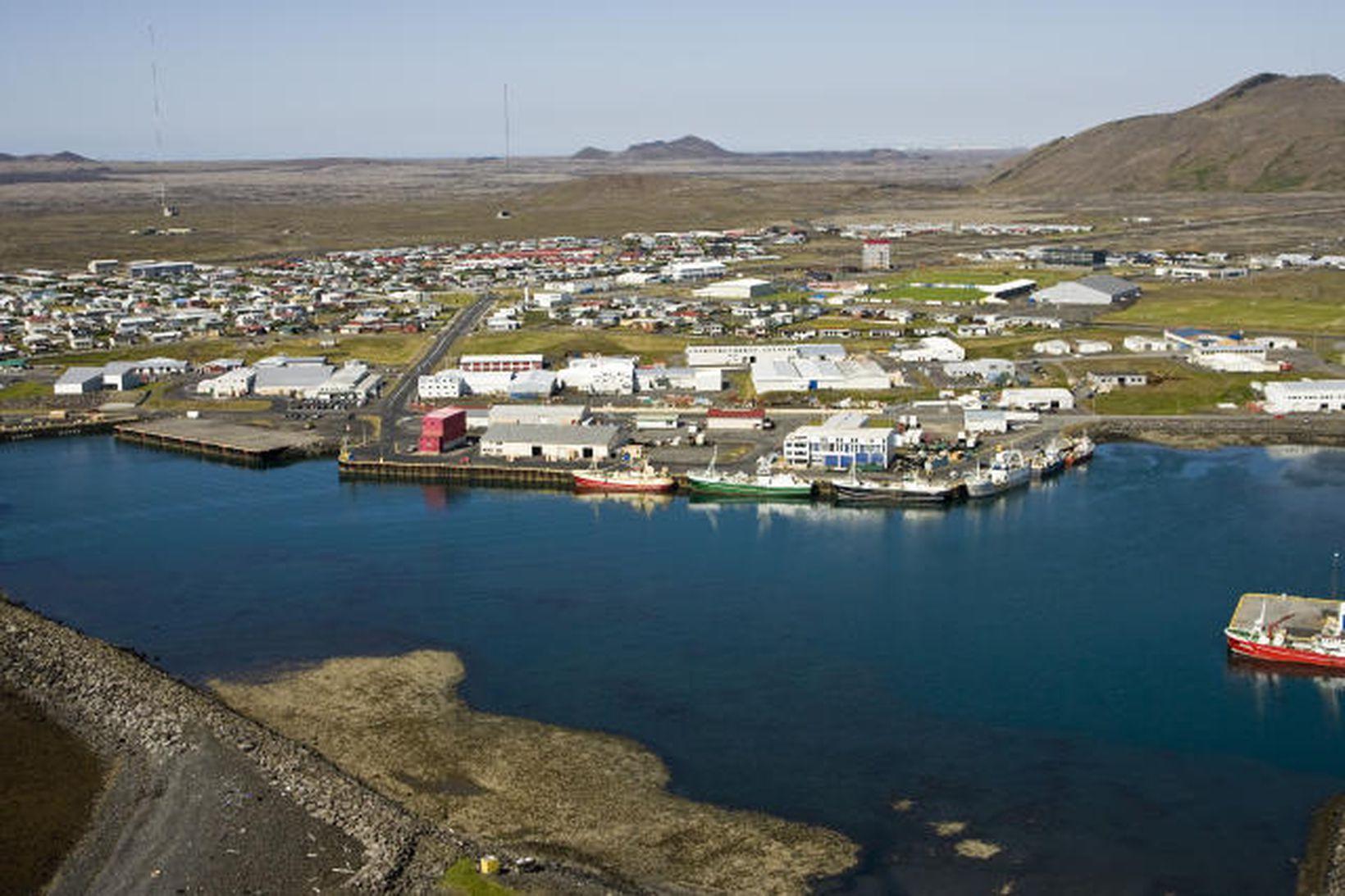 Jarðskjálftinn átti upptök sín í nágrenni við Grindavík.