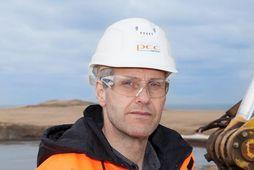 Jökull Gunnarsson, forstjóri kísilmálmverksmiðju PCC á Bakka.