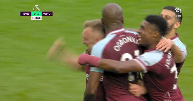 Markið: Moyes fagnaði gegn Everton