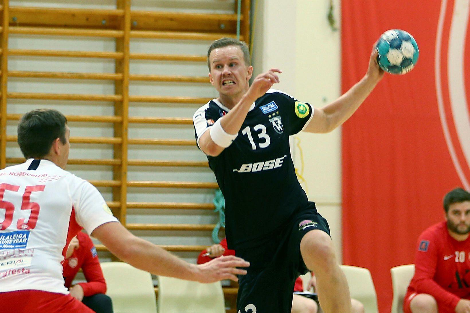 Einar Rafn Eiðsson er einn af lykilmönnum FH.