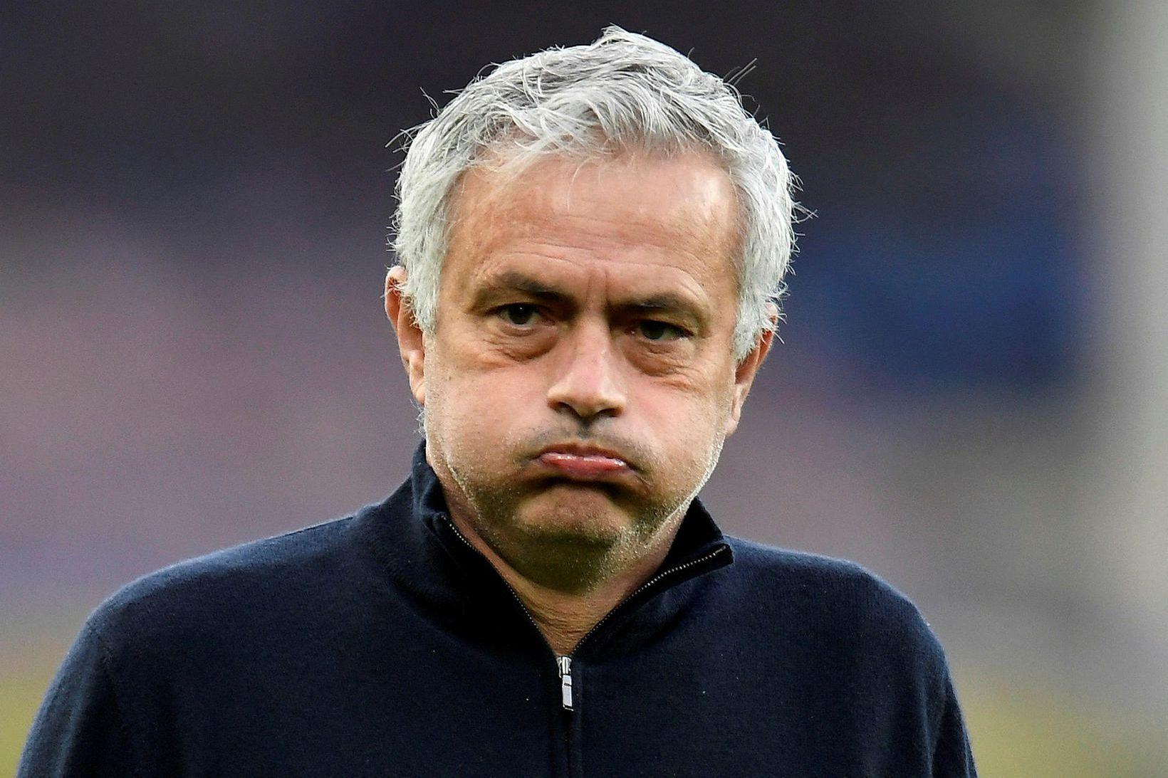 José Mourinho var rekinn frá Tottenham í apríl eftir 17 …