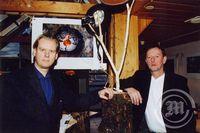 Sigmundur Ernir og Ólafur Oddsson