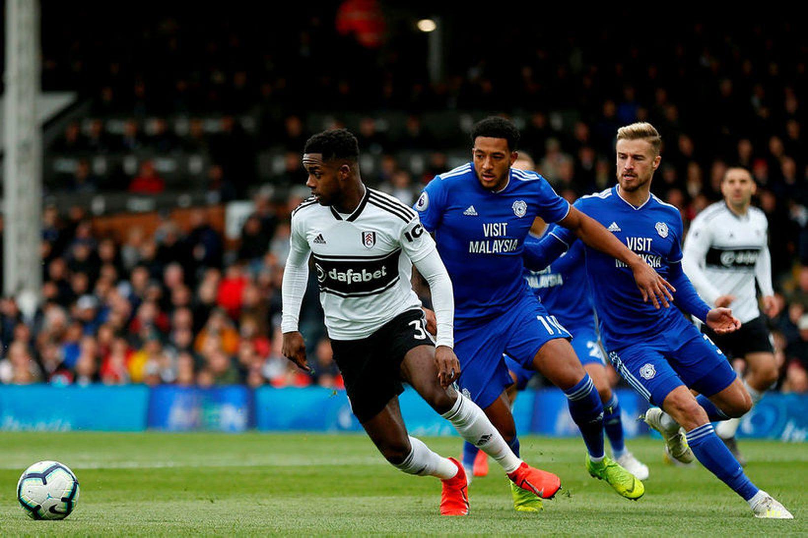 Ryan Sessegnon í leik með Fulham.