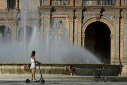 47 stiga hiti í Sevilla