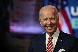 Joe Biden vann ólíklegan sigur í Georgíuríki.