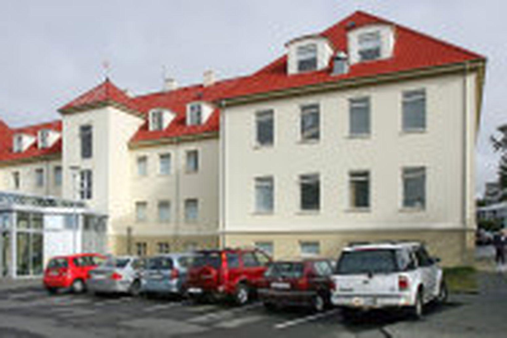 St. Jósefsspítali í Hafnarfirði.