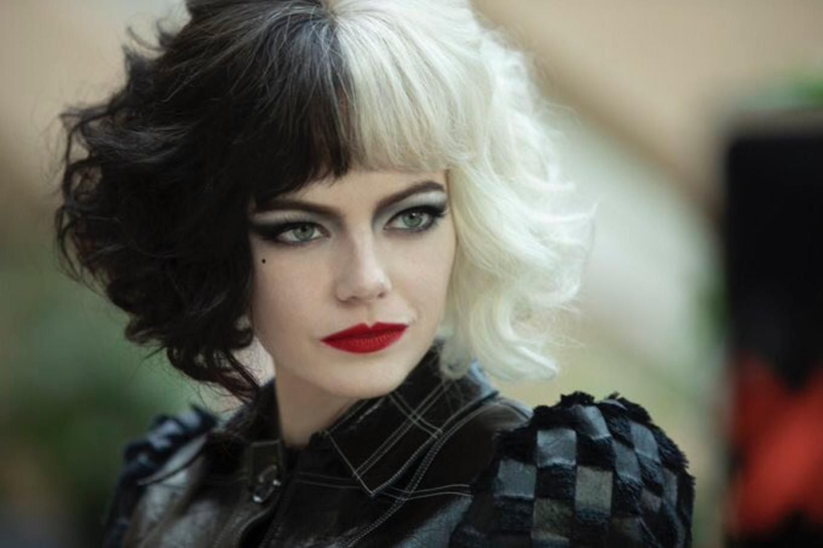 Emma Stone fer með hlutverk Grimmhildar Grámann.