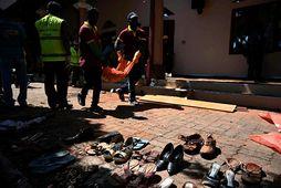 Samkvæmt skýrslu stjórnvalda Sri Lanka var þeim gert viðvart um yfirvofandi hættu 11. apríl.