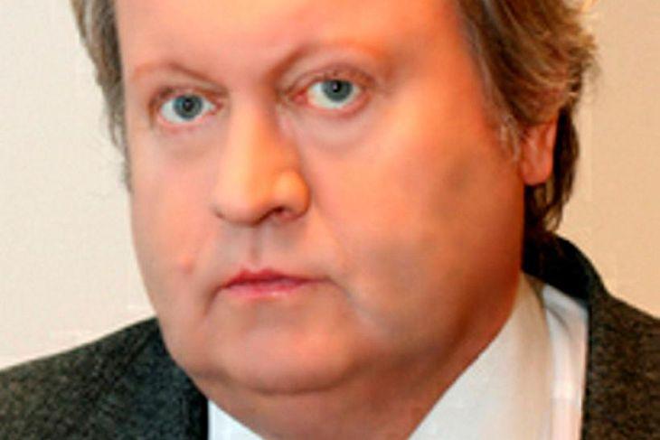 Pétur Gunnlaugsson, útvarpsmaður á Útvarpi Sögu.