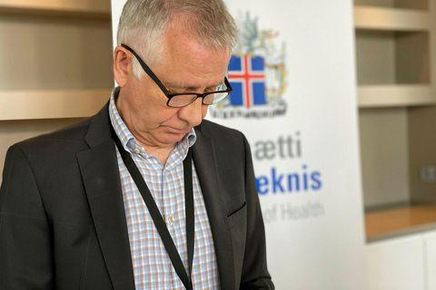 Chief Epidemiologist Þórólfur Guðnason.