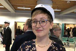 Sóley Halldórsdóttir útskrifaðist af náttúrufræðibraut Menntaskólans við Hamrahlíð með meðaleinkunnina 9,37.