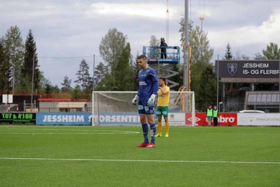 Stefan Hagerup, markvörður Ull/Kisa.