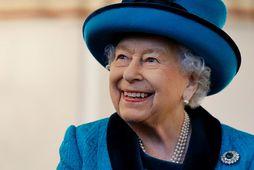 Drottningin vill ekki hvítlauk en elskar rækjur.