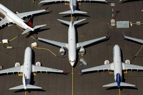 Spurn eftir nýjum Boeing-vélum hefur dregist gríðarlega mikið saman eftir að MAX-vélarnar voru kyrrsettar á …