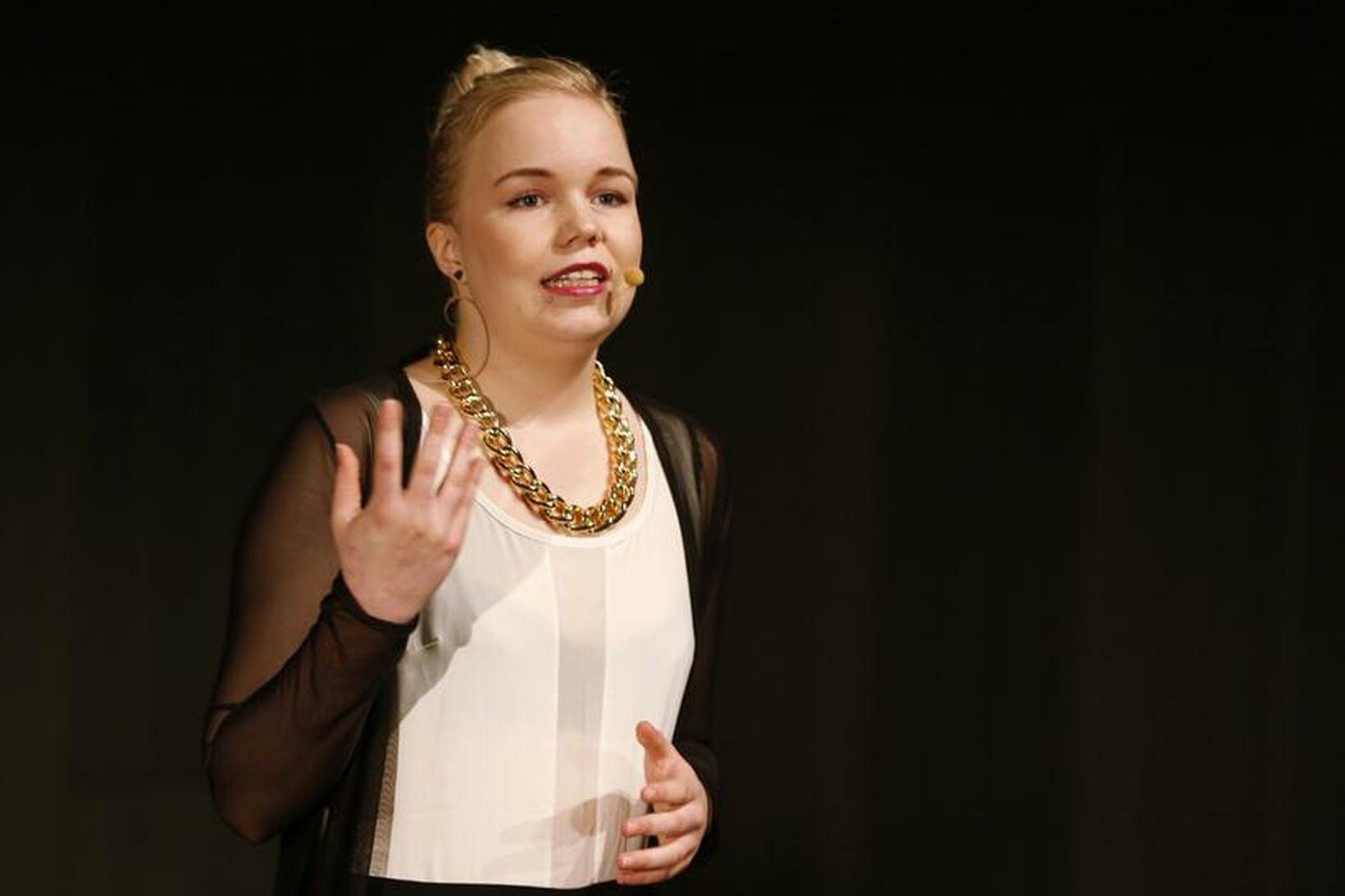 Silja Björk Björnsdóttir vakti athygli á TEDxReykjavík 2014 ráðstefnunni í …