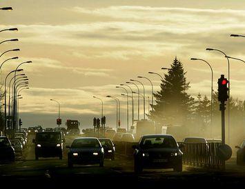 Svifryksmengun hefur verið töluverð í Reykjavík að undanförnu.