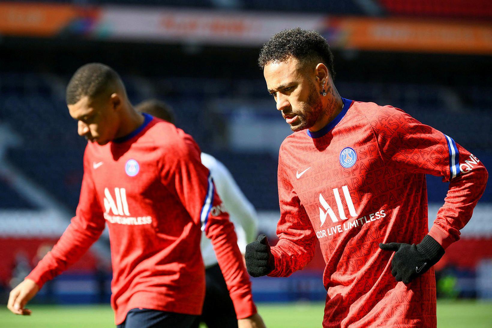 Kylian Mbappé og Neymar eru góðir félagar utan vallar.