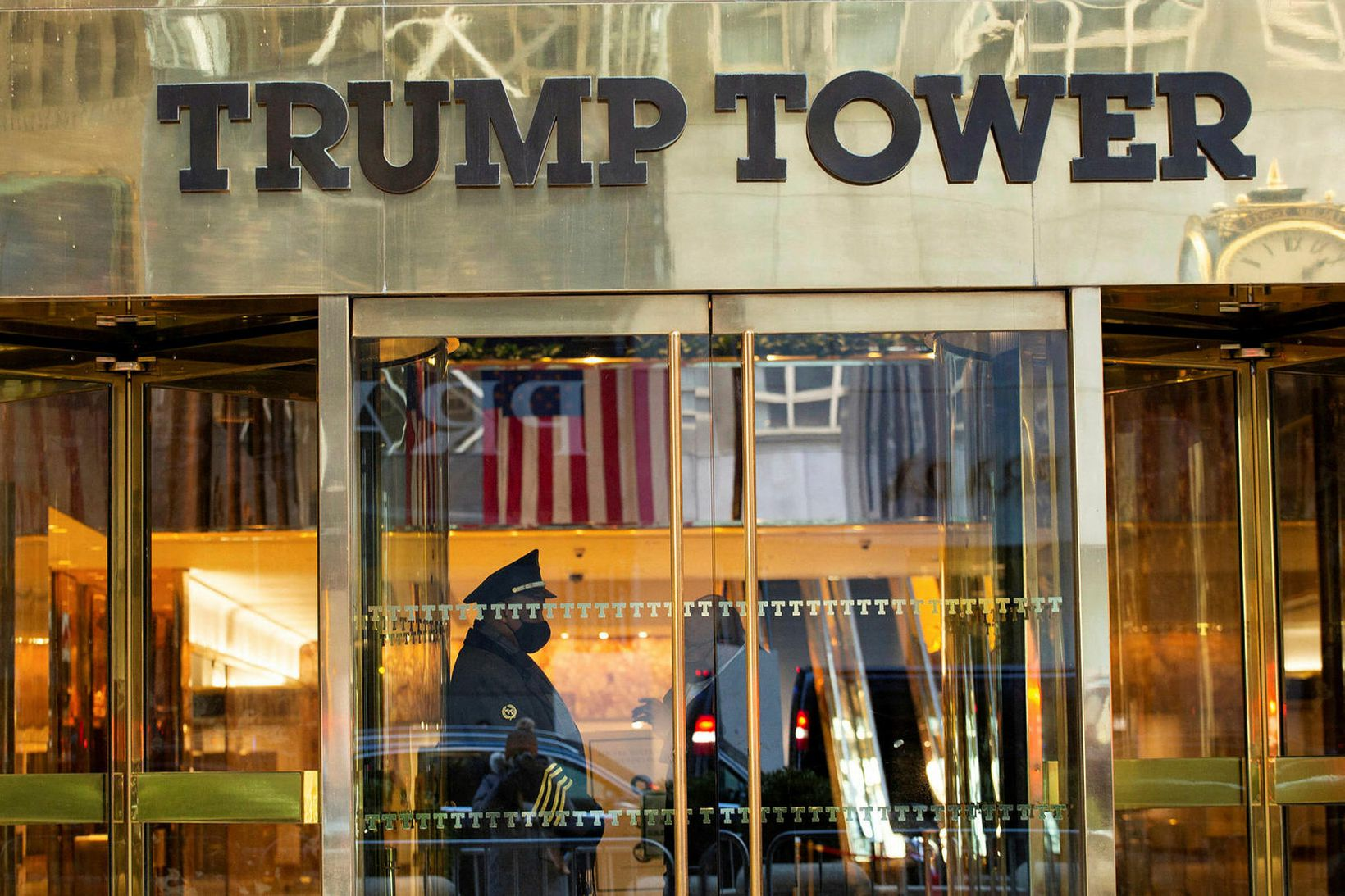 Trump stofnunin á golfklúbba, hótel og lúxuseignir Trumps.